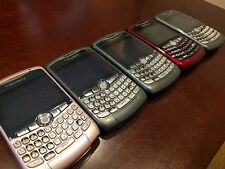 Lot of 5x Blackberry 8320/8310 Curve Phones - Used