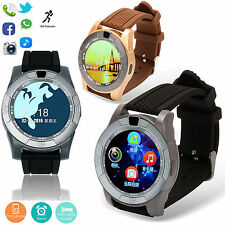 GSM Bluetooth Smart Watch Touch Screen Pedometer Bracelets For Android Phones