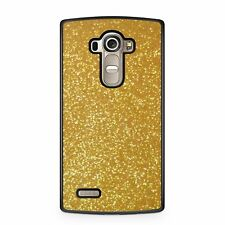 Yellow glittery gold printed virtual phone case cover protector sparkle shiny