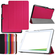"""new! Tri-Fold Slim Leather Case Cover for 10.1"""" Acer Iconia One 10 B3-A20 Tablet"""