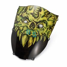 Airbrushed Monster Custom Windscreen Windshield For kawasaki Fairing motorcycle