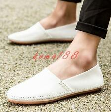 Spring Mens Slip On Loafer driving Shoes Casual Moccasins Gommino flat soft shoe