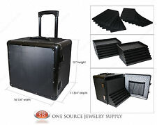 Aluminum Carrying Case Travel Case Jewelry Salesman & Jewelry Trays & Liners
