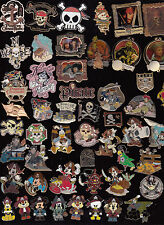 21 Disney Pin Pins Disney Disneyland CHOOSE: Pirates of The Caribbean Pirate