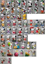 Snoopy/Peanuts Schleich, Whitman`s, Mc Donald´s Pvc + plastic figure-choose