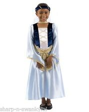 Childs Girls Maid Marian Robin Hood Medieval Princess Fancy Dress Costume Outfit