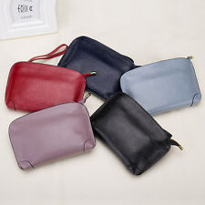Women Genuine Leather Wallet Long Zipper Leather Purse Female Coin Purse Clutch