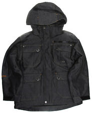 Ripzone Extortion Snowboard Jacket Black Denim Youth