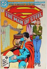 SUPERMAN-THE MAN OF STEEL#6-SIGNED DICK GIORDANO-DC COMICS-1986