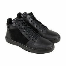 Creative Recreation Adonis Mid Mens Black Leather Lace Up Sneakers Shoes