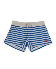 New Womens Superdry Factory Second Tomboy Striped Shorts