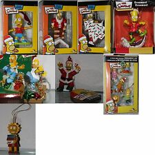 THE SIMPSONS Ornament/Pendant/Figurine/Christmas/CHOOSE: Bart, Homer, Lisa