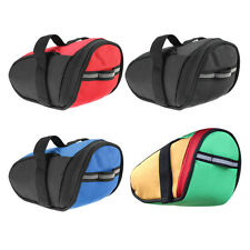 Outdoor Bike Bicycle Cycling Saddle Bag Tail Rear Pouch Seat Storage NEW HT