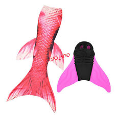 Kids child mermaid tails swimwear for adult fins fairy tail swimsuit custome New