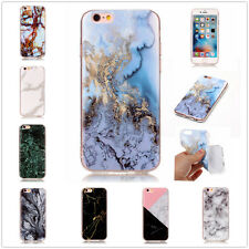 Different Kind Marble Grain Patterned Soft TPU Back Case Cover For Mobile Phones