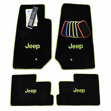 JEEP JK 4 Door Unlimited Floor Mats Wrangler Sahara Rubicon 2007-2013