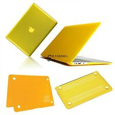 "Yellow Frosted/Crystal Plastic Hard Case For Apple Macbook Pro 13"" SLS901"