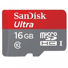 For VERIZON PHONES - SANDISK ULTRA 16GB MICROSD MEMORY CARD HIGH SPEED CLASS