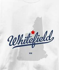 Whitefield, New Hampshire NH MAP Souvenir T Shirt All Sizes & Colors