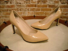 G.I.L.I Chantal Nude Patent Leather Pointed Toe Pump New