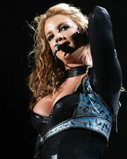 Britney Spears in Concert Leathers Color Poster or Photo