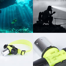 2400LM CREE T6 LED Waterproof Underwater Diving Head light Lamp Flashlight 10W
