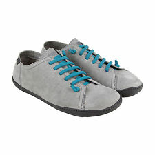 Camper Peu Cami Mens Gray Leather Lace Up Lace Up Sneakers Shoes