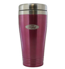 Ford Pink Stainless Travel Mug