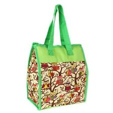 Green Owl Insulated Lunch Tote Bag-Lunch Bag