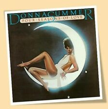 DONNA SUMMER FOUR SEASONS OF LOVE MOON PRINT POSTER 70's DISCO MUSIC
