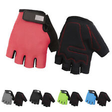 Sports Racing Cycling Motorcycle MTB Bike Bicycle Gel Half Finger Gloves New