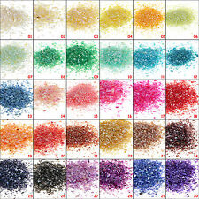 PRO Multi-Color Crushed Shell Sheet Powder for Nail Art Salon Decoration Choose