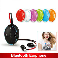 Wireless Headphone Earbud HandsFree Bluetooth Headset Earphone For Ear Phone