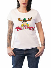 National Lampoon Vacation T Shirt Walley World Moose Official White Skinny Fit