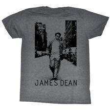James Dean Hollywood Icon Lined Walk Adult T-Shirt Tee