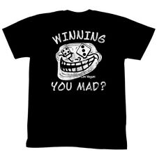 U Mad? You Mad Bro? Meme GIF Trending Winning You Mad? Adult T-Shirt