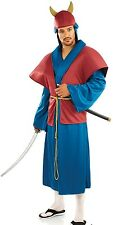 Mens Japanese Samurai Warrior International Fancy Dress Costume Outfit M L XL