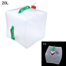 10L/20L Collapsible Outdoor Camping Water Storage Carrier Container Bag Pack HOT