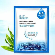 Hyaluronic Acid Moisturising Facial Mask Hydrating Firming For all Skin Types