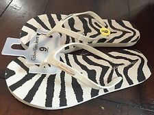 NWT Womens Calvin Klein Thongs Sandals Flip Flops Size 7 or 10