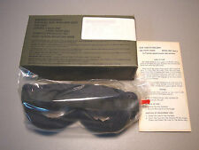 MILITARY SUN WIND AND DUST GOGGLES 1 CLEAR & 1 NEUTRAL GRAY LENSES  L@@K