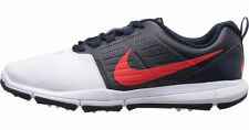 Mens Nike Explorer SL Golf Shoes Size 8.5 - 12 Navy Blue Red White 704694 102