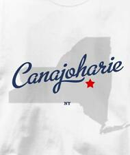 Canajoharie, New York NY MAP Souvenir T Shirt All Sizes & Colors