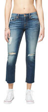 aeropostale womens low-rise ankle straight jean
