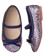 NWT NEW Gymboree Back to Blooms Sizes 5 6 9  Sparkle Ballet Flats Shoes