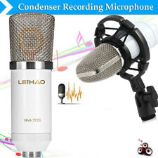LEIHAO BM - 700 Condenser Sound Recording Microphone with Shock Mount for Radio