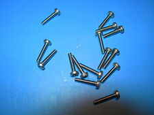 M4 x 28mm long POZI(Phillips) PAN Head BOLTS(Screws) A2 Stainless Steel Packs of
