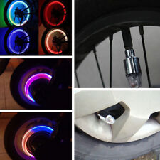 4pcs LED Wheel Tyre Tire Valve Caps Cool Neon Lamp Light for Bike Car Motorcycle