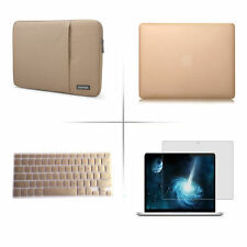 "Sleeve bag keyboard cover screen protector hard case Macbook Pro Air 11"" 13"" 15"""