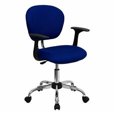 Mid-back Mesh Task Chair with Arms and Base